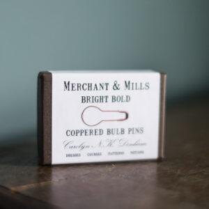 Merchant and Mills, copperet bulb pins
