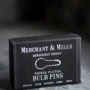 Merchant and Mills, nickel bulb pins