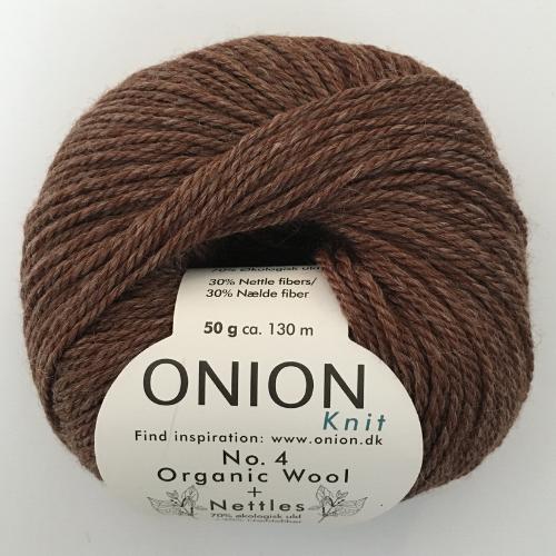Onion No. 4 Wool + Nettles, brun