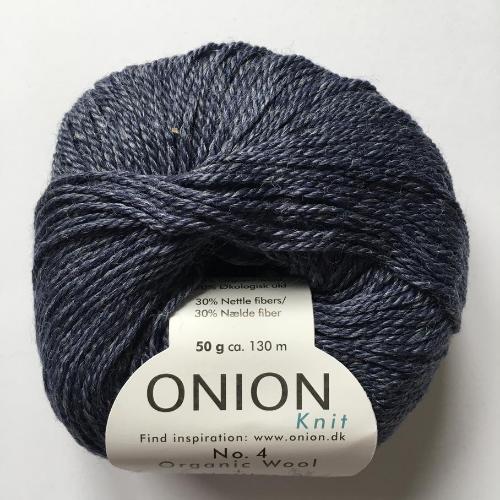 Onion No. 4 Wool + Nettles, jeans blå
