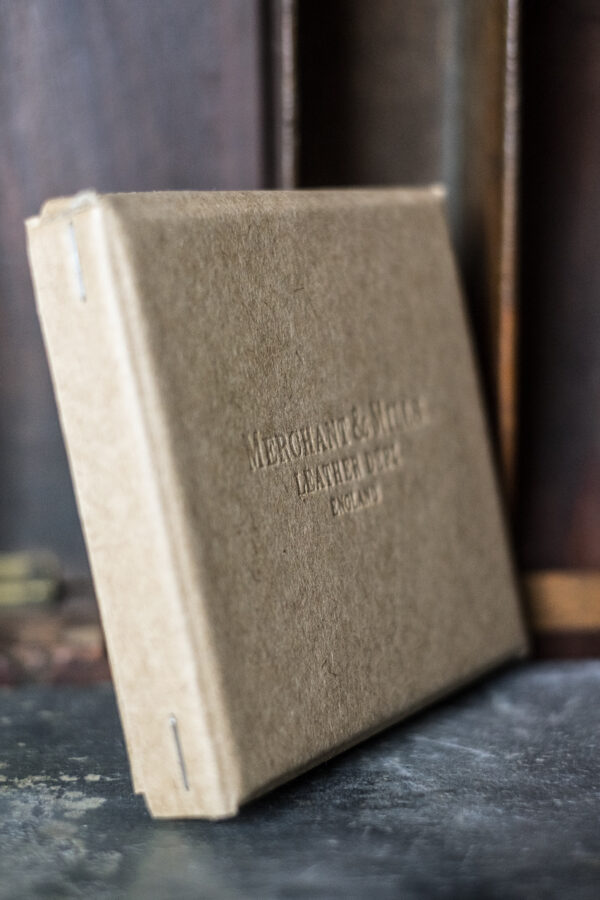 Merchant and Mills, leather needle wallet