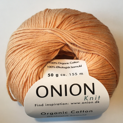 Onion cutton, abrikos