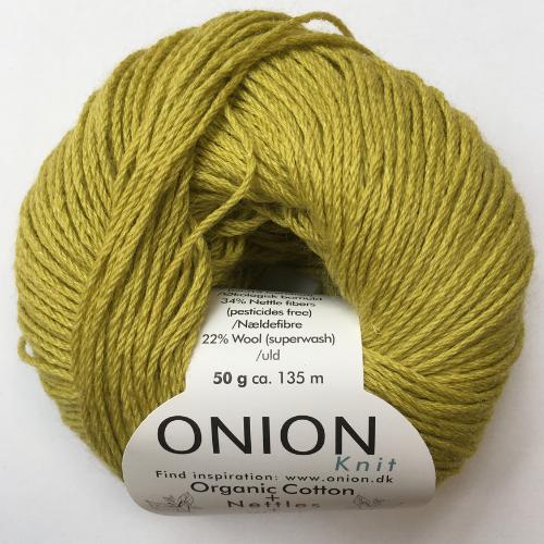 Organic Cotton + Nettles + Wool