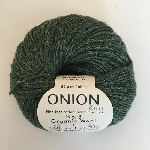 Onion No. 3 Wool + Nettles, flaskegrøn