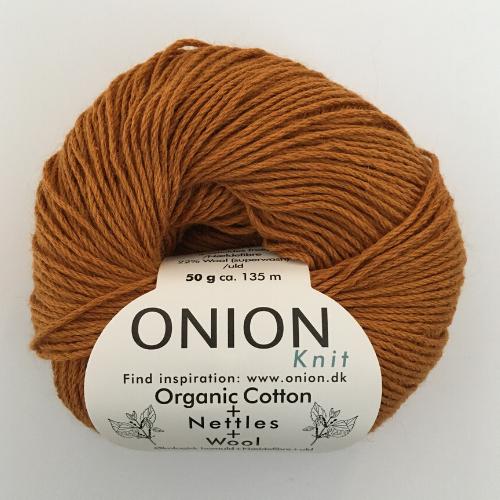 Onion Organic Cotton + Nettles + Wool, gylden
