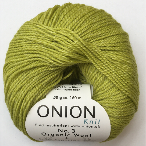 Onion No. 3 Wool + Nettles, lime