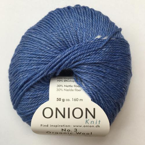 Onion No. 3 Wool + Nettles, himmelblå