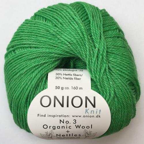 Onion No. 3 Wool + Nettles, græsgrøn