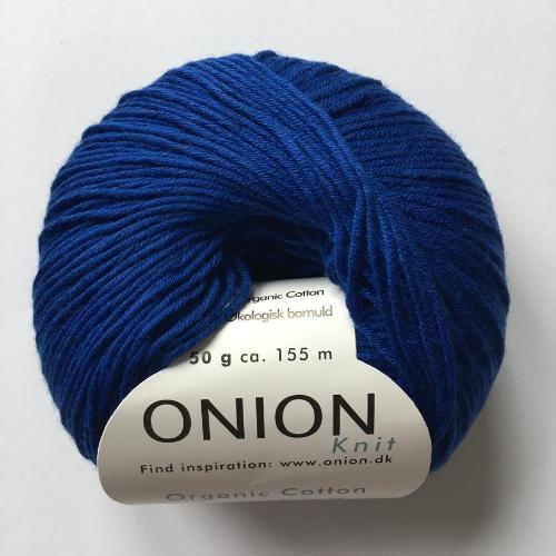 onion cotton, blå kobolt