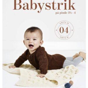 Babystrik på pinde 3.5 - 4, hæfte 4