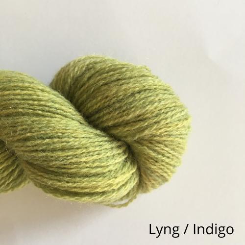 Lyng Indigo med tekst