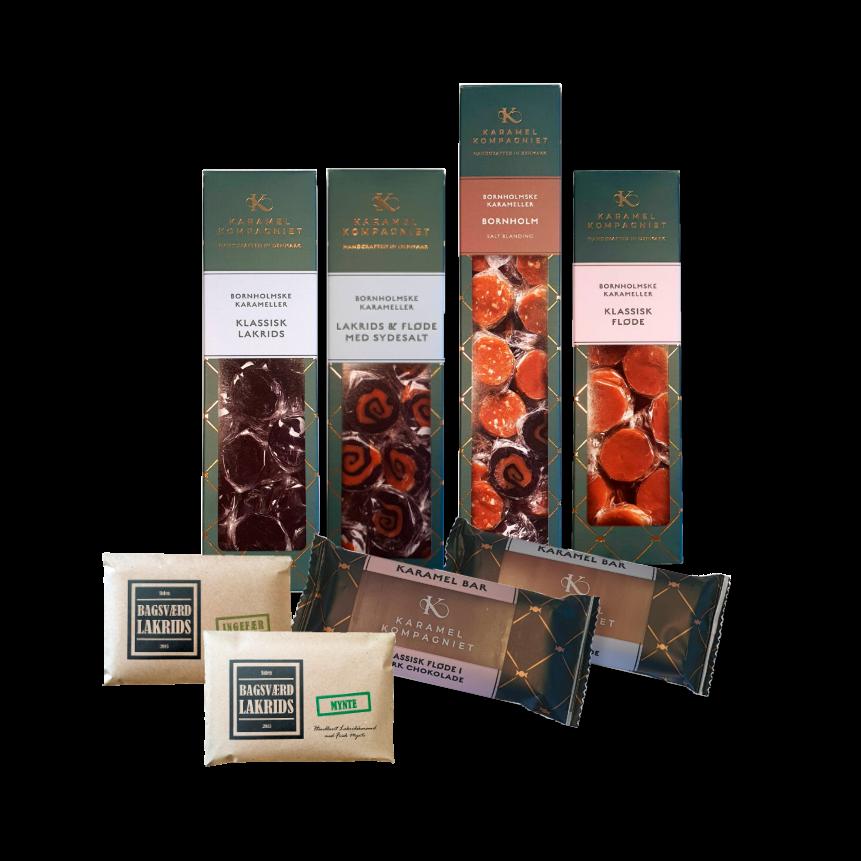 Lækkerier fra Karamel Kompagniet og Bagsværd Lakrids